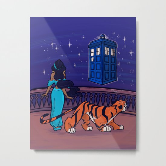I can show you the Universe Metal Print