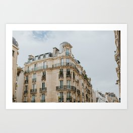 Paris Charm Art Print