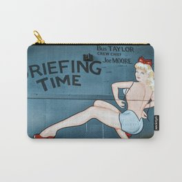 Nose Art Pinup Girl Carry-All Pouch