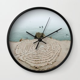 Lands End Labyrinth, San Francisco II Wall Clock