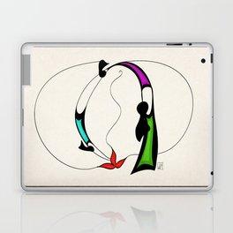 Ritual fire dance Laptop & iPad Skin