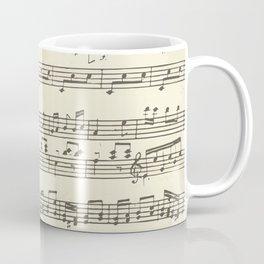 Lovely music note print Coffee Mug