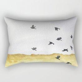 Autumn Crows Rectangular Pillow