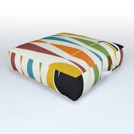Mid-Century Modern Art Cat 2 Outdoor Floor Cushion