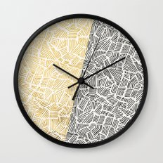 Inca Day & Night Wall Clock