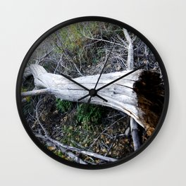 The Rot From Within Wall Clock