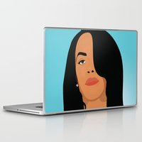 aaliyah Laptop & iPad Skins featuring Babygirl by 92 Aesthetics