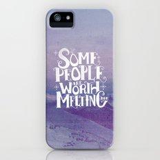Happy Snowman Alt. iPhone (5, 5s) Slim Case