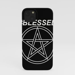 #BLESSED iPhone Case