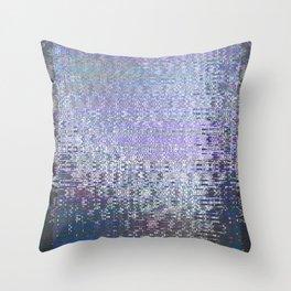 Glytch 01 Throw Pillow