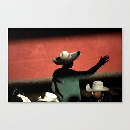 Charro greeting Canvas Print