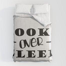 Books Over Sleep Comforters