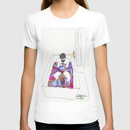 bath bomb T-shirt