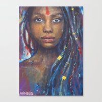 faith Canvas Prints featuring Faith by Annelie Solis