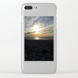 Sunset at Baltic Sea Clear iPhone Case