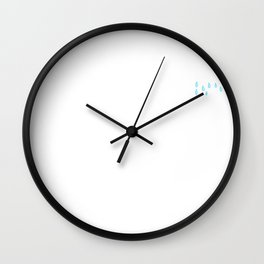 Shane Dawson Current Mood Hoodie Wall Clock