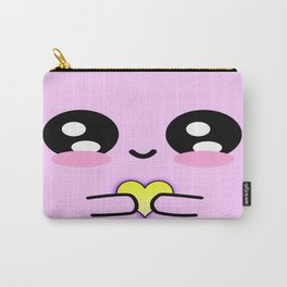 Holding my heart - pink Carry-All Pouch