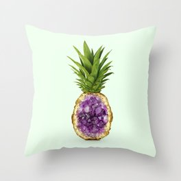 PINEAPPLE QUARTZ Throw Pillow