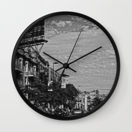 Mile-end Wall Clock