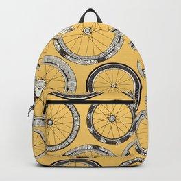 bike wheels butter Backpack