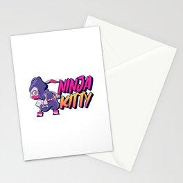 Ninja Kitty Stationery Cards