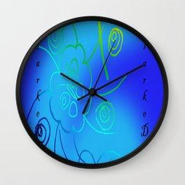 Rockbank Butterfly Wall Clock