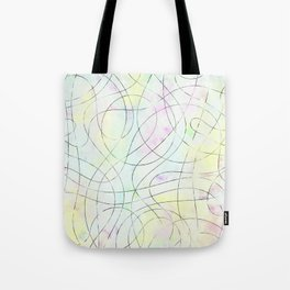 Astract Drawing Tote Bag