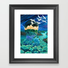 Meditation Framed Art Print
