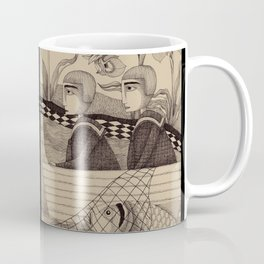 The Golden Fish (2) Coffee Mug