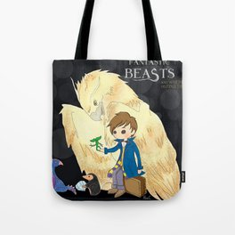 Fantastic beasts and where to find them. Tote Bag