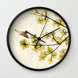 Beautiful Spring Wall Clock