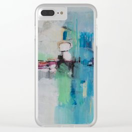 Metropolis Nine Clear iPhone Case