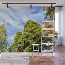 Tree Art Twi Wall Mural