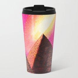 Galaxy Pyramids Landscape Travel Mug