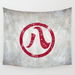 Nagoya 名古屋 Distressed Wall Tapestry