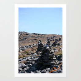 Old Rock March Art Print