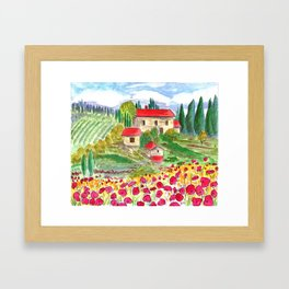 Tuscan Framed Art Print