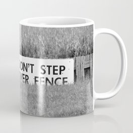 Marsh Danger Sign Coffee Mug