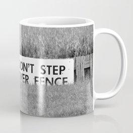 Marsh Danger Sign Coffee Mug