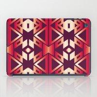 burgundy iPad Cases featuring burgundy edge by design lunatic