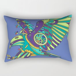 Eagle, cool wall art for kids and adults alike Rectangular Pillow
