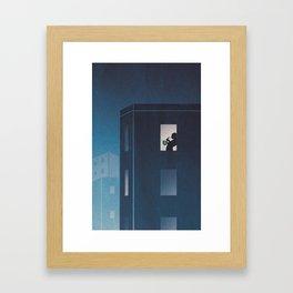 Blues at Sunrise Framed Art Print