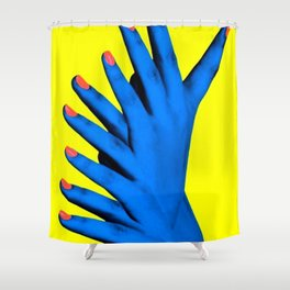 Hand Job Shower Curtain