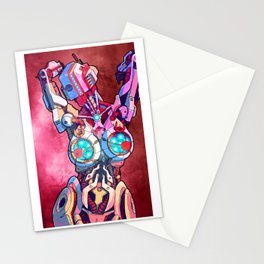 Milanibot 2 red Stationery Cards