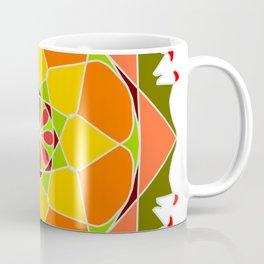 Abstract mandala in colors Coffee Mug