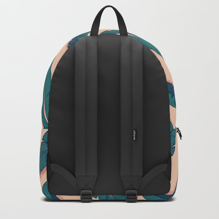 Falling Blue Leaves #society6 #decor #buyart Backpack