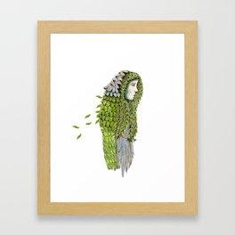 Ela. Defoliating Framed Art Print