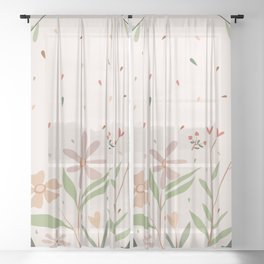 Be different Sheer Curtain