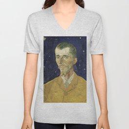 Eugene Boch by Vincent van Gogh Unisex V-Neck