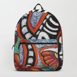 Tiger Day of the Dead Cat Backpack